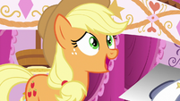 Applejack -she looks like a disco ball!- S7E9