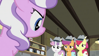 CMC backing up from Diamond Tiara S2E23