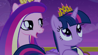 Cadance singing -that crown is upon your head- S4E25