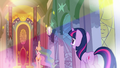 Flashback Celestia 'Those things are reflected across all of Equestria' S3E2.png