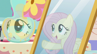 "Fluttershy's reflection ""this is where Discord lives!"" S7E12"