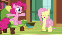 "Fluttershy ""no, not exactly"" S7E5"