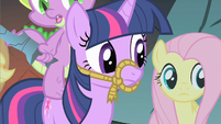 Fluttershy & Twilight ok weird S1E19