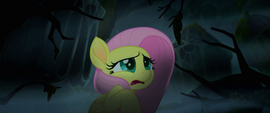 Fluttershy scared of ghosts MLPTM