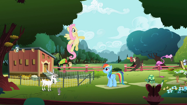 Файл:Fluttershy singing in beginning of song S2E07.png