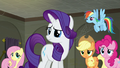 Main five looking uncertain at Twilight S6E9.png