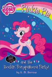 Portada de Pinkie Pie and the Rockin' Ponypalooza Party!