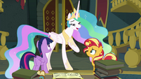 "Princess Celestia ""possess a kind heart"" EGFF"