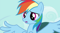 "Rainbow Dash ""now it's too light"" S4E16"