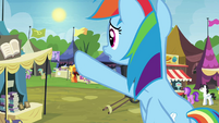 Rainbow Dash -the Exchange ends at sundown!- S4E22