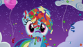 Rainbow covered in confetti and streamers S6E7.png