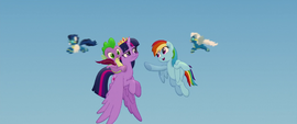 "Rainbow singing ""you got this"" to Twilight MLPTM"