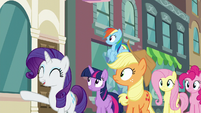 "Rarity ""Here it is!"" S6E9"