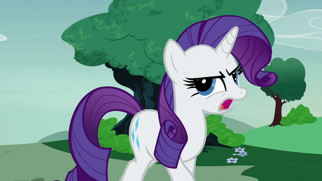 "File:Rarity ""the designers have dropped out!"" S7E9.png"