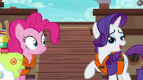 Rarity --your wardrobe is delightfully seaworthy-- S6E22