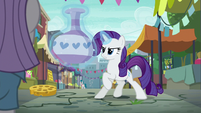 Rarity levitating large vase S6E3
