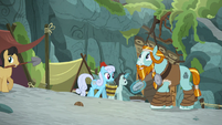 Rockhoof reminiscing about his village S8E21