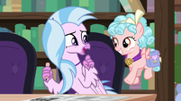 Silverstream thanking Cozy Glow S8E25