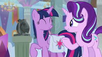 "Starlight ""Twilight has asked me to stay here"" S8E25"