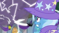 Thundercloud building over Trixie S9E20