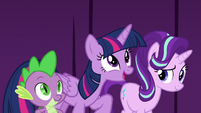 "Twilight ""thank you for saving our play"" S8E7"