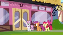 "Apple Bloom ""I don't like this, Sweetie Belle"" S4E15"