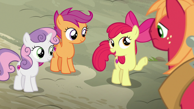 "File:Apple Bloom ""don't worry, Big Mac"" S7E8.png"