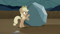 Applejack, about get kicked S2E2