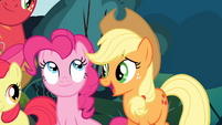 Applejack 'But we need your help finding out...' S4E09