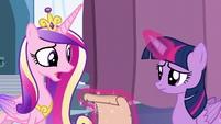 Cadance --there's only one way to find out!-- S6E2