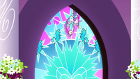 Cadance stained glass window S3E2