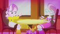 Diamond Tiara and Silver Spoon in Sugarcube Corner EG2.png