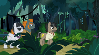 Dr. Caballeron searches for Rainbow and friends S6E13