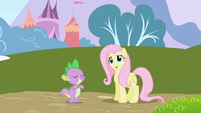 Fluttershy --That's just so incredibly wonderful-- S01E01