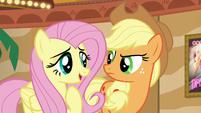 Fluttershy --solving a friendship problem is important-- S6E20