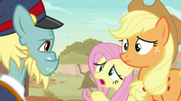 Fluttershy -you really startled us- S8E23