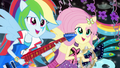 Fluttershy and Rainbow singing EG2.png