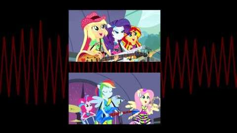 MLP EG - Rainbow Rocks Music Shine Like Rainbows HD