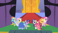 Main ponies at the gala S01E26.png