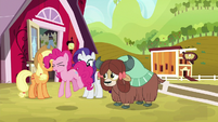 """Pinkie """"everything about the dance!"""" S9E7"""