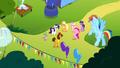 "Pinkie Pie ""headline the Rainbow Dash birth-iversary bash"" S4E12.png"