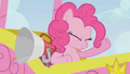 Pinkie Pie cheering for the racers S1E13.png