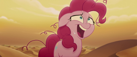 Pinkie Pie laughing deliriously MLPTM