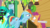 "Rainbow ""why are you starting a new fan club?"" S8E20"