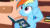 Rainbow Dash --he doesn't want to be bothered-- S2E18