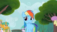 Rainbow Dash wow S2E8