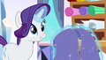 Rarity 'flew a flag of many hues' S3E1.png
