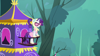 Rarity on balcony S3E6