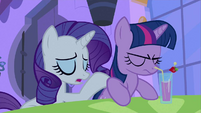 Rarity result of nerves S2E25