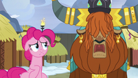 "Rutherford ""yak horn too heavy for small pony head"" S7E11"